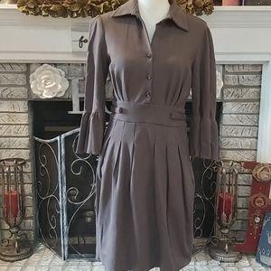 Joseph Ribkoff taupe dress, size 8